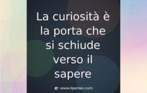 Appunti sulla curiosità epistemica.